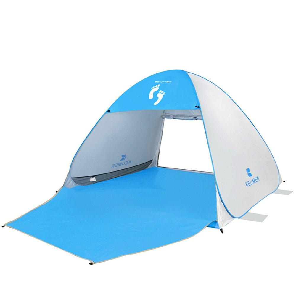 QAR Strandzelt Outdoor-Freizeit-Zelt automatische 3-4 Personen wechseln Schatten Angeln Zelt Zelt