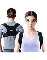 LEBEXY Haltungskorrektur Geradehalter für Rücken | Rückenstabilisator Rückenstütze Schultergurt für Herren und Damen | Haltungstrainer Rückengurt | Rückentrainer Posture Corrector Rückenbandage
