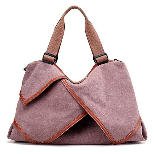 spesa della casuale Spalla moda della borsa borsa la della della della tela pu donna della borsa borsa Viaggio borsa di Smilinggirl della che della xIx4tC