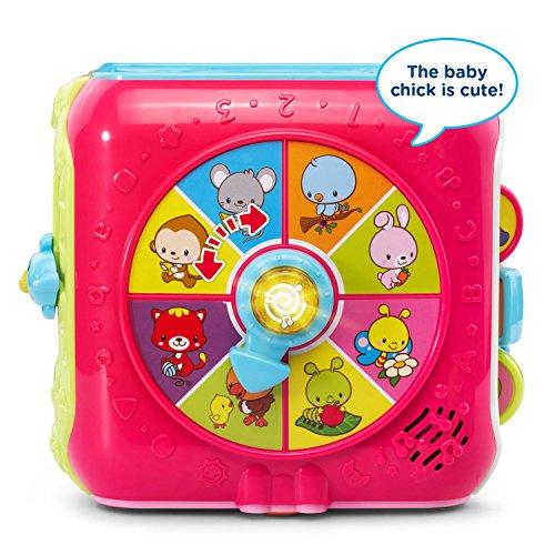 VTech Sort & Discover Activity Cube, Pink by VTech (Image #2)