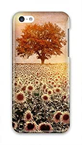 Cool Painting Slim PC Snap on Hard Phone Cover Fit For Iphone 5c