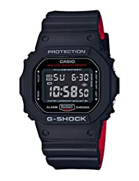 CASIO G-SHOCK Black & Red Series DW-5600HR-1JF MENS JAPAN IMPORT