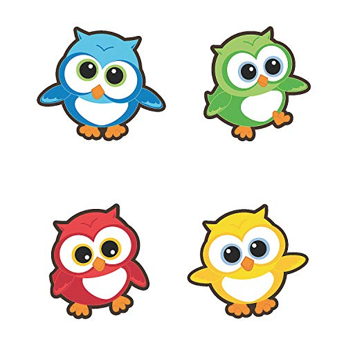 Fun Express - Bulletin Board Cutouts - Owls - Educational - Classroom Decorations - Classroom Decor - 48 Pieces]()