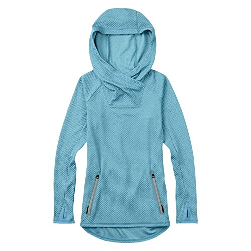 Burton Crystal Pullover Hoodie, Hydro Heather, Large