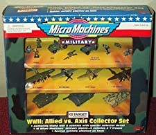 WWII: Allied vs. Axis Collector Set Military Micro Machines