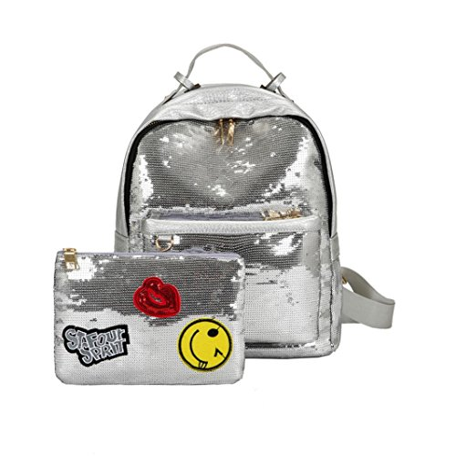 Y56 - Backpack Bag Another Woman S Silver Skin