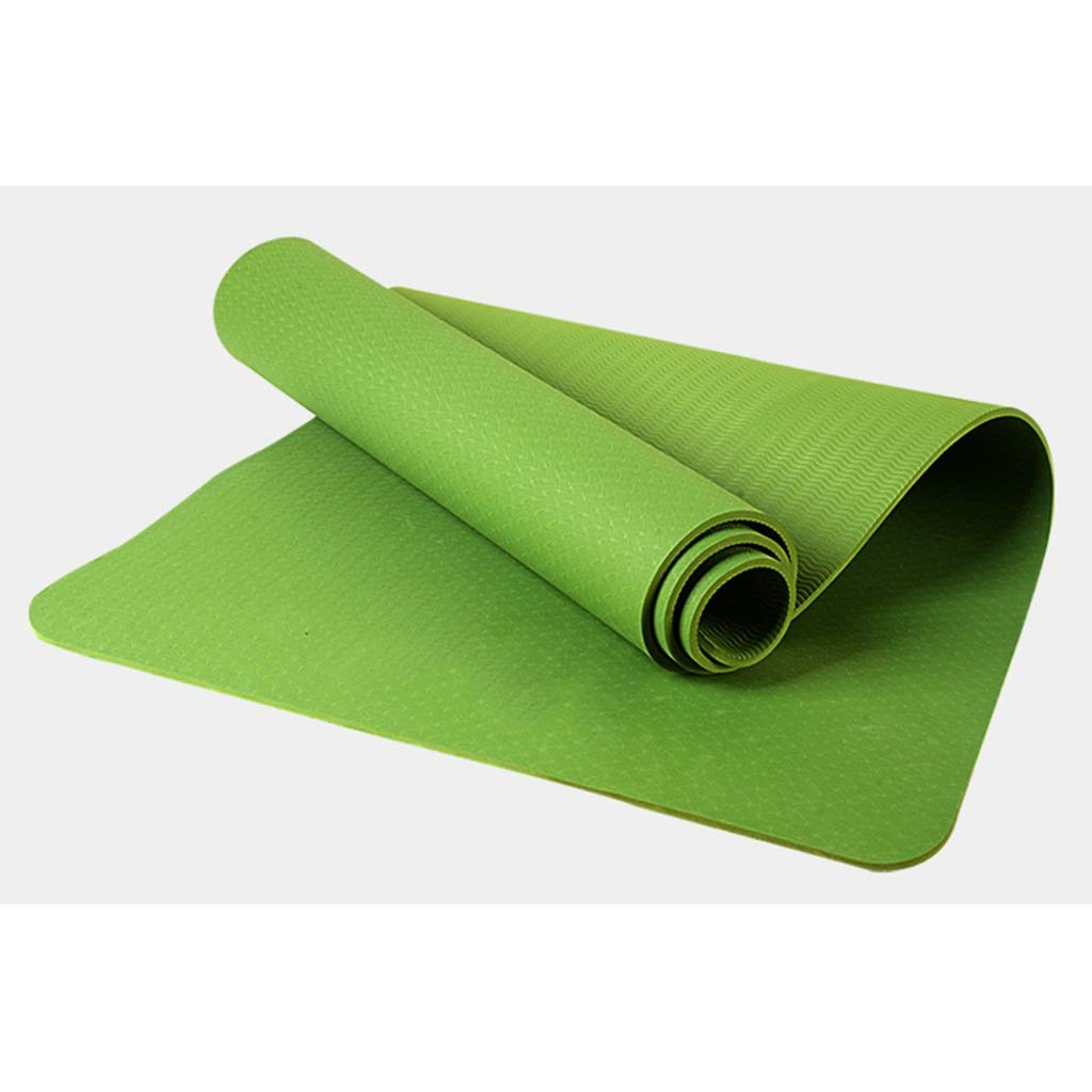 C LQQGXL Tapis de Yoga pour Tapis de Fitness pour débutant Tapis d'exercice Tapis antidérapant 1830  640  6MM