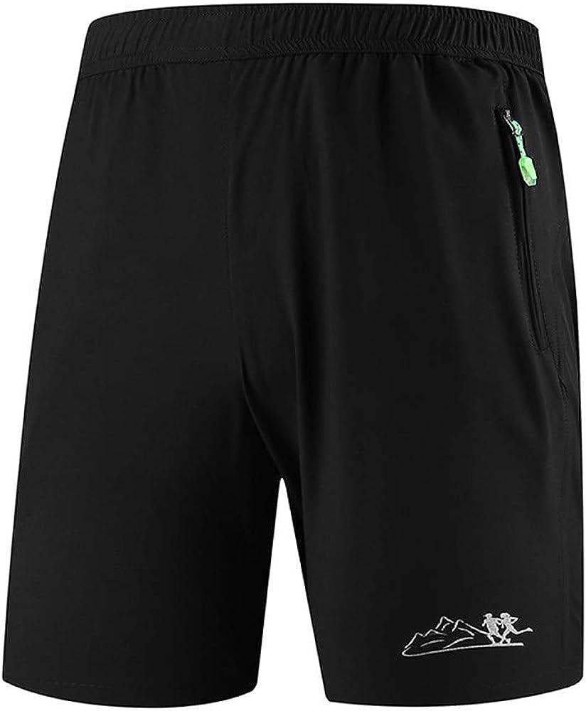CLOOM Talla Grande Pantalones Cortos De Deporte para Hombre con ...