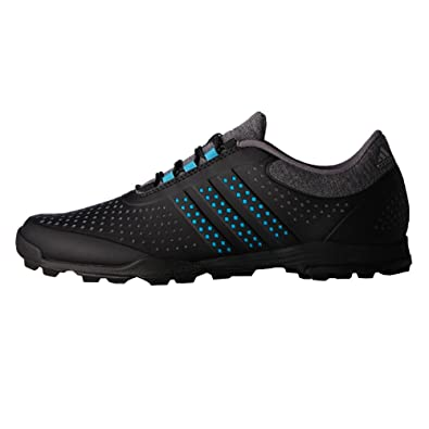 best service b23e3 83772 Adidas Golf 2017 Women s AdiPure Sport Golf Shoe - Q44742 (Dark Grey  Heather Energy Blue Core Black - 5. 5)  Amazon.in  Shoes   Handbags