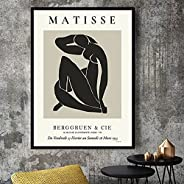 Canvas Painting Print Poster Matisse Black Art Poster Minimalist Modern Canvas Artist Home Decoration Abstract
