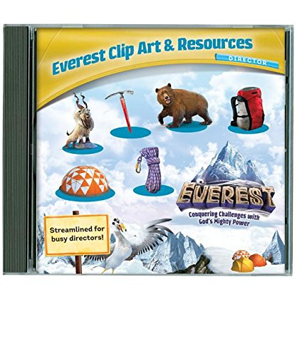 Everest VBS Vacation Bible School Clip Art & Resources CD. Package of ()