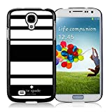 Samsung Galaxy S4 Kate Spade Black 003 screen phone case sweet and beautiful design