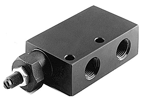 SPX Power Team 9623 in-Line Automatic Pressure Relief Valve for Single and Double Acting Cylinder