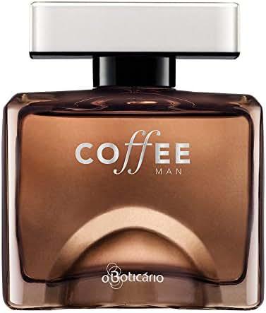 Linha Coffee Boticario - Colonia Coffee Man 100 ML - (Boticario Coffee Collection - Coffee Man Eau De Toillete 3.38 Fl Oz)