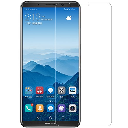 Huawei Mate 10 Pro Screen Protector, Nillkin [H+ Pro] Tempered Glass 0.2mm 2.5D Round Edges Anti-Glare High Clarity 9H Screen Hardness Anti-Fingerprints Screen Protector for Huawei mate10 Pro Glass