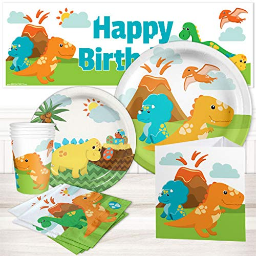Little Dinosaur Party Package for 16 -