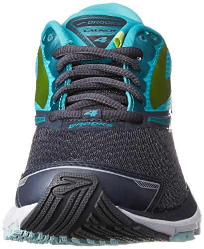 Brooks Womens Launch 4 Anthrazit / Keramik / Lime Punch