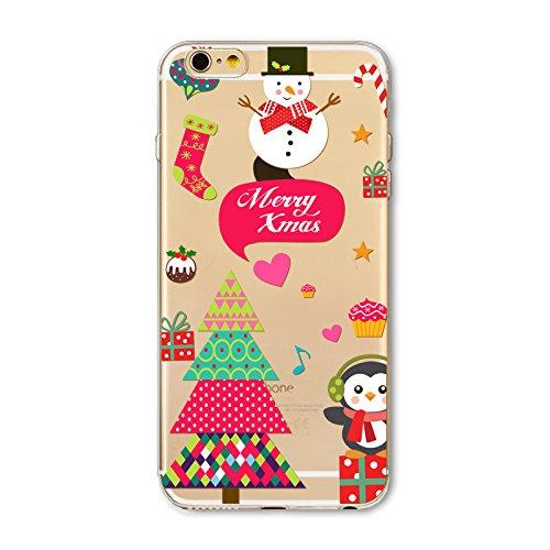 Christmas Greeting iPhone SE 5SE 5 5S Navidad Serie Funda, TOTOOSE Ultra Slim Fit prueba de golpes TPU Teléfono de Nuevo caso protector de Cubierta para iPhone iPhone SE 5SE 5 5S -Botas verdes Merry Xmas 2