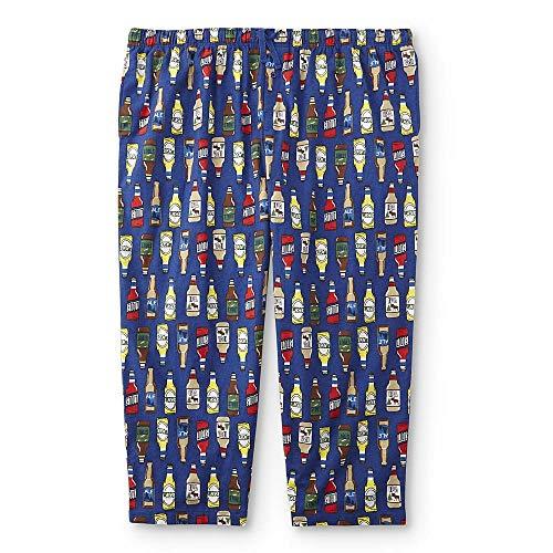 Joe Boxer Men's Big & Tall Lounge Pants (XXXX-Large, Beer Bottles) ()