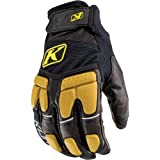 Klim Adventure Men's Dirt Bike Motorcycle Gloves - Black/Tan / X-Small