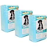 BEST DOG TRAINING PADS 75 count, Premium Quality, Super Absorbent DOGGY PADS. Large & Thick PADS for DOG & CAT Satisfying Results & Faster Training