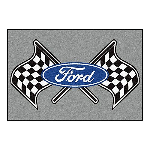NASCAR Ford Flags 5 x 8 Rug, 60