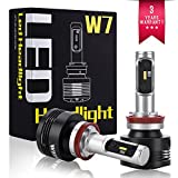 H8 H9 H11 LED Headlight Bulbs Conversion Kit Super Bright 60W 9600LM Built-in