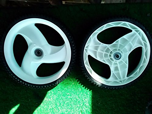 TWO (2) 105-1816 TORO PUSH MOWER REAR HI-WHEELS 20012 20016 20019