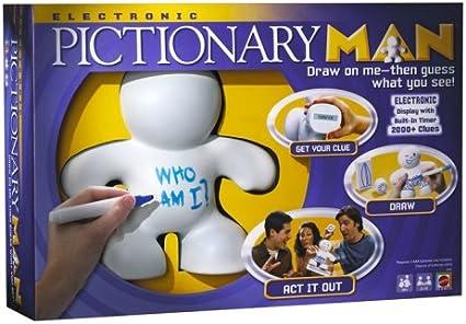 Electronic Pictionary Man Game by Mattel: Amazon.es: Juguetes y juegos