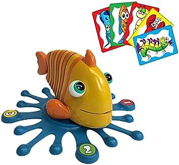 Juegos Bizak - El Pez Listillo, Juego de Mesa (63140121): Amazon.es: Juguetes y juegos