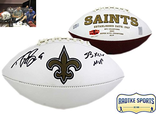 Radtke Sports Drew Brees Autographed/Signed New Orleans S...