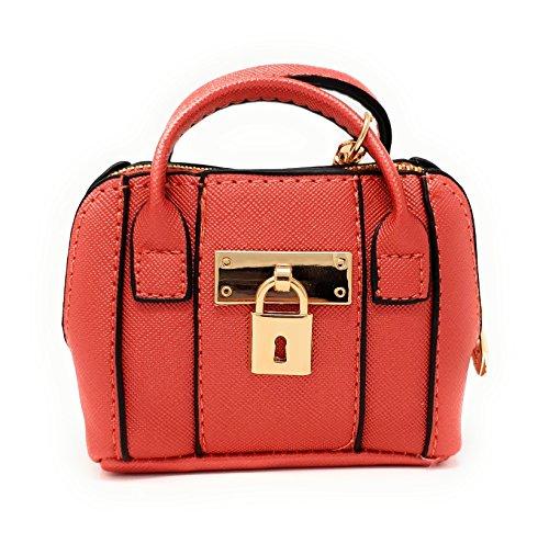 Mini Clair Monnaie T600 Sac Petite Etui malito Rouge Femmes Accessoires Bourse Porte Port q6xtAOUf7w