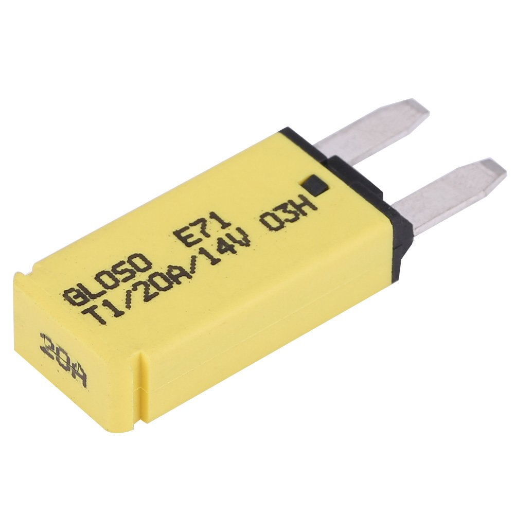 20A 14V DC Automatic Resettable Blade Fuses for Car Truck Marine Mini Blade-Style Circuit Breaker