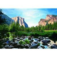 Ravensburger Yosemite Valley Puzzle de 1000 piezas para adultos: cada pieza es única. La tecnología Softclick significa que las piezas encajan perfectamente.
