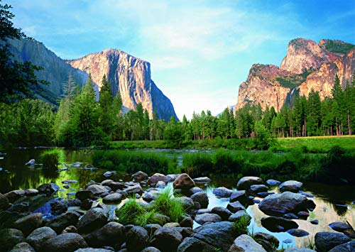 Ravensburger Yosemite Valley 1000 Piece Jigsaw Puzzle for Adults - Every Piece is Unique, Softclick Technology Means Pieces Fit Together Perfectly (Best Jigsaw Puzzles For Adults)