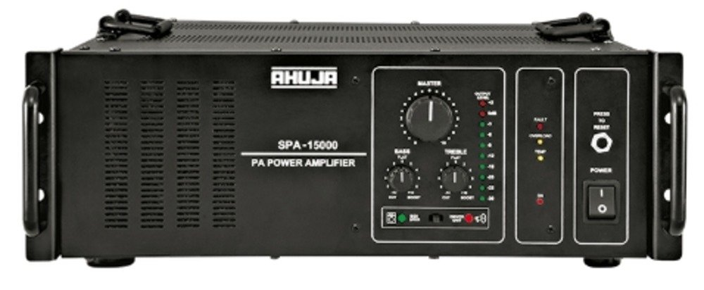 Ahuja SPA-15000 1500 Watts High Power PA Amplifier: Amazon ...