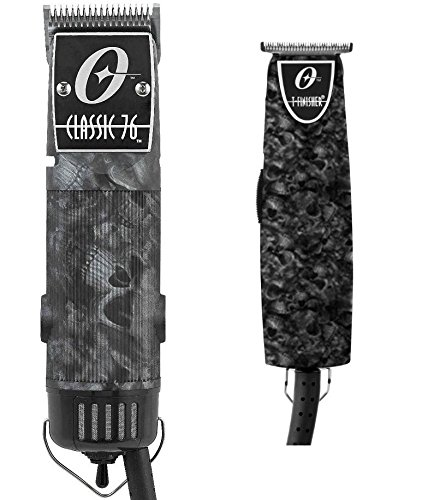 Oster Classic 76 Professional clipper Skull + Limited T-Finisher Pro Skulls by Oster