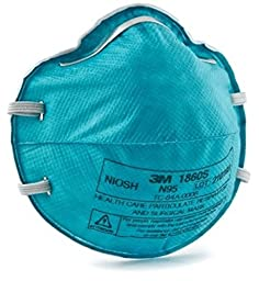 3M 1860S Particulate Respirator and Surgical Mask, Size: Small, New Super Size Package 40 Pack