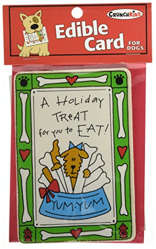 Crunchkins Crunch Edible Card, Holiday Treat For You To ()