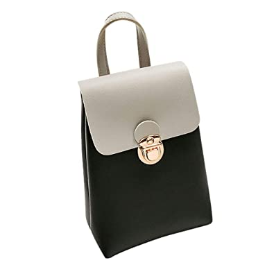 Women Hit Color Shoulder Bag Messenger Satchel Tote Crossbody Bag Phone Bag mini Crossbody bolsos mujer