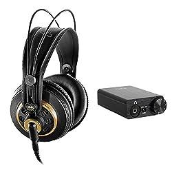 Akg K 240 Studio Professional Semi-open Stereo Headphones With Fiio E10k Usb Dac Amplifier