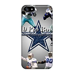 Durable Dallas Cowboys Back Case/cover For Iphone 5/5s
