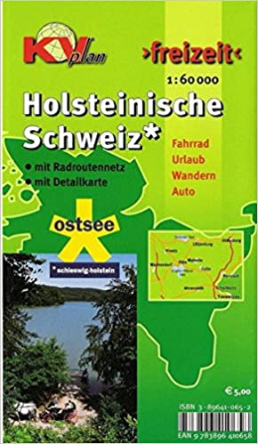 Holsteinische Schweiz Karte.Holsteinische Schweiz 1 60 000 Freizeitkarte Mit