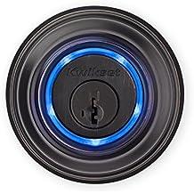 Kwikset Kevo (1st Gen) Smart Lock with Keyless Bluetooth Touch to Open Convenience in Venetian Bronze (Renewed)