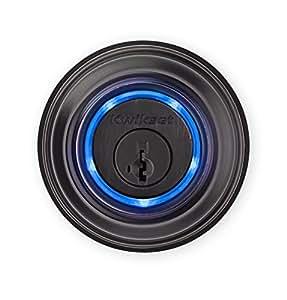 Kwikset Kevo (2nd Gen) Touch-to-Open Bluetooth Smart Lock, Works with Amazon Alexa via Kevo Plus, in Venetian Bronze