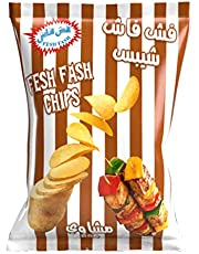 Fesh Fash Chips with BBQ Flavour, 1x160g