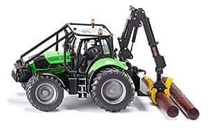 Siku 3657 - Tractor forestal miniatura (escala 1:50)
