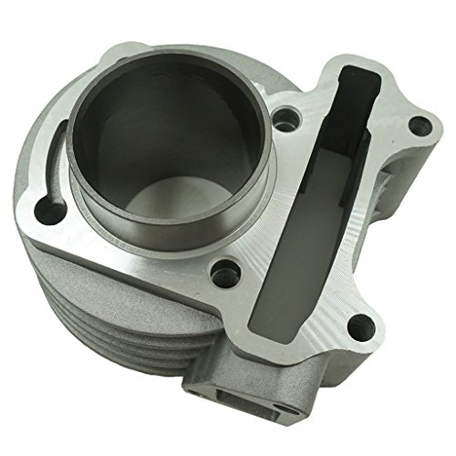 Glixal ATMT1-008 Performance Big Bore Cylinder Kit GY6 80cc 47mm for 139QMB ATV Scooter Moped Go Kart by Glixal (Image #2)