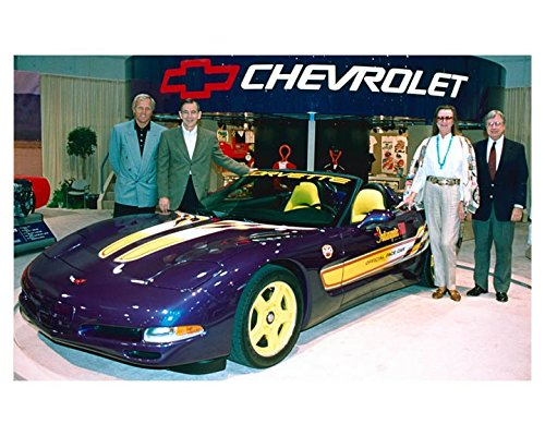 1998 Chevrolet Corvette Indy 500 Pace Car Factory Photo