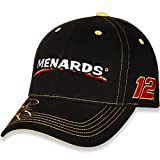 Checkered Flag Ryan Blaney #12 Menards 2018 Die Hard Fan Nascar Adjustable Hat/Cap